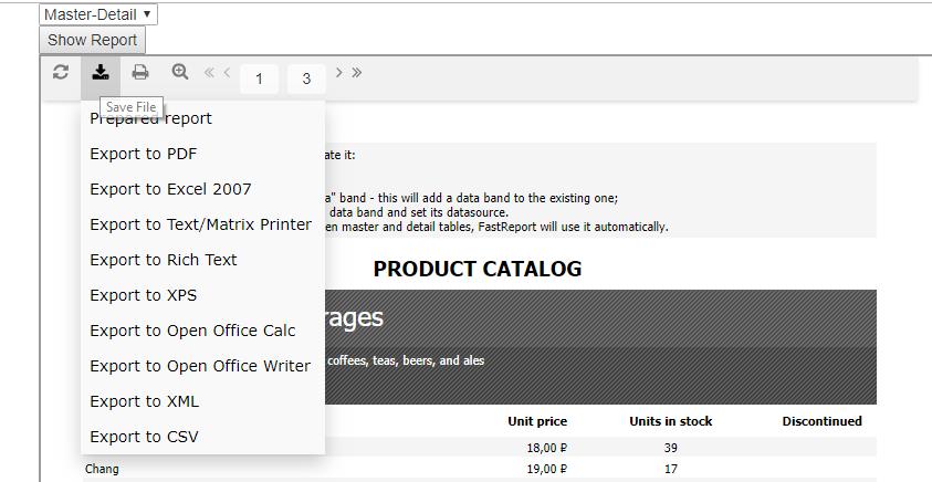 如何在Vue.js应用程序中使用FastRerport.Core实现Web报表的显示