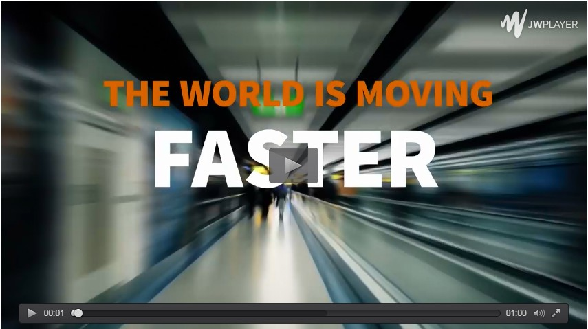 moving faster