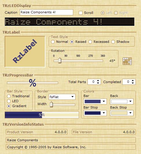 Delphi界面增强组件 Raize - wolfgangkiefer - wolfgangkiefer的博客